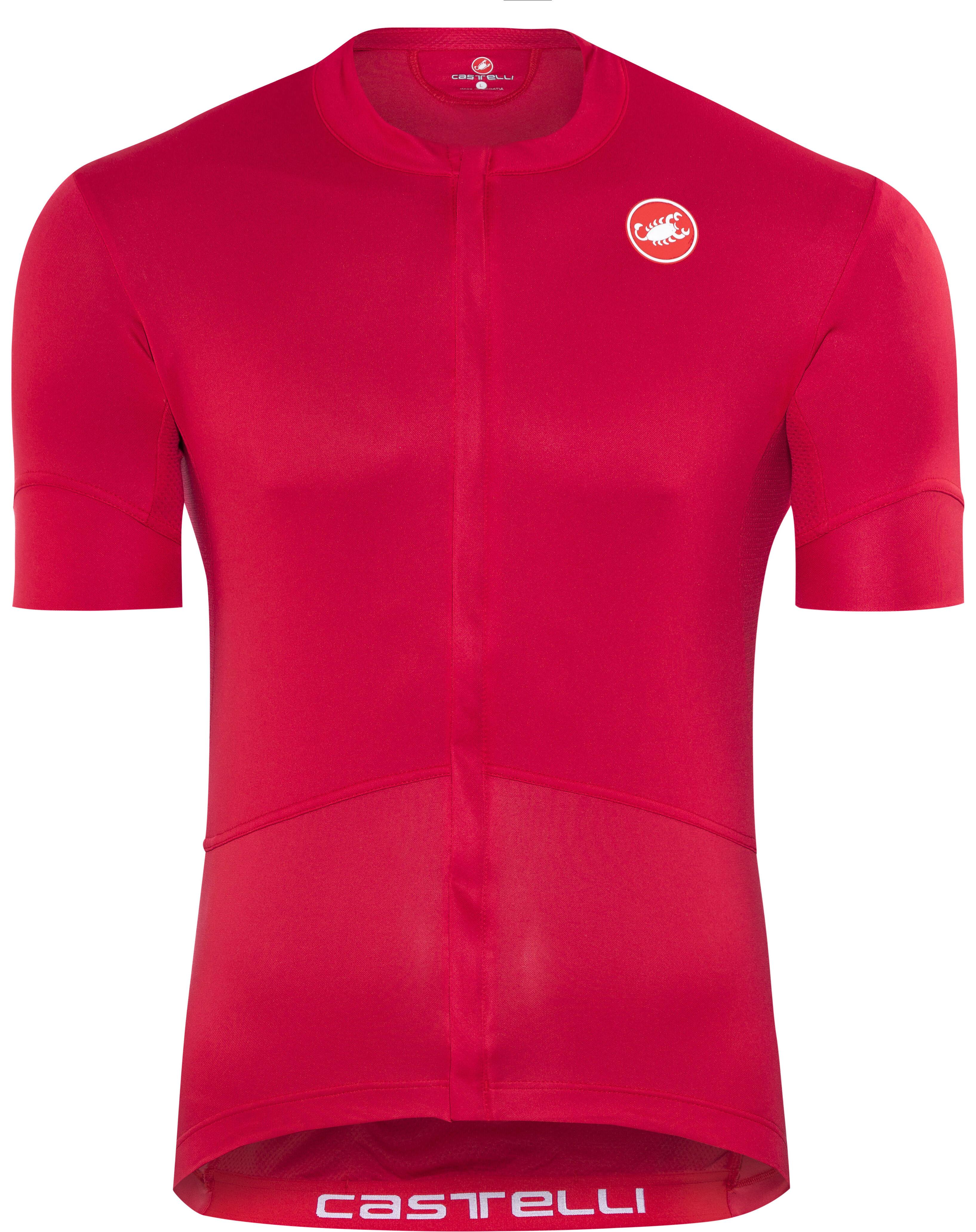 Castelli Imprevisto Nano Bike Jersey Shortsleeve Men red at Bikester ... 3df64fb20